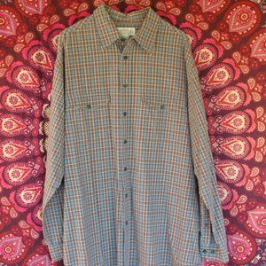 NWOT Plaid Long sleeve button up